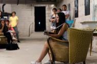 Jaqueline Rubino kann man für Events auch als Singer-Songwriterin buchen