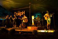 """""""the Dorph & friends"""" live auf der Bühne."""