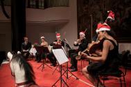 Weihnachtskonzert des Mercator-Ensembles.