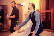 René und Schenk Auftritt mit Braut