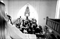 Hochzeitssängerin Nicole bei Trauung