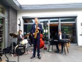 Axel Schmitt mit Band