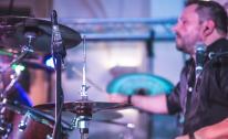 Vinyl Band Schlagzeug