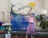 Seifenblasenkünstlerin Ekaterina Kraft Indoor Show