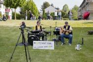 "Motivation-heute ""Die Corona Band"" Outdoor"