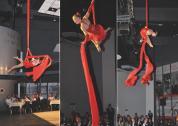 Airdance - Leonie bei einem Auftritt