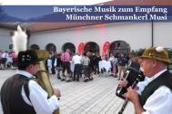 Münchner Schmankerl Musi Auftritt