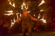 Magomaya ~ Magie Feuer Riesenseifenblasen