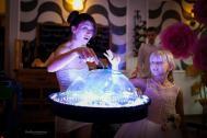 Magische Seifenblasen Show