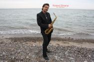 A - LED Saxophon , Musicus & DJ -  Roland Ross