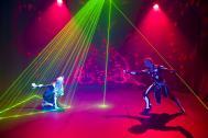 """""""Lazerpyramid"""" - Laser Show"""