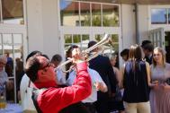Steven B and his Trumpet