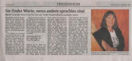 Gabriele Anna Franz - Ihre Trauerrednerin -