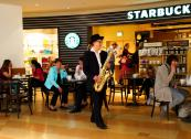 Saxophon-Livemusik