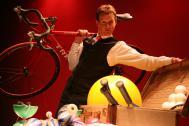 Peter Gerber - der weltmeisterliche Comedy-Jongleur