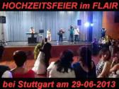Italienische Deutsche Hochzeitsband Partyband