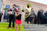 Walkabees - Live Musik Brass Walk-Act aus Berlin
