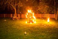 Feuershow - Sternenfängerin Constance