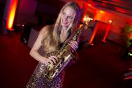 Marion Andersons Saxophonistin