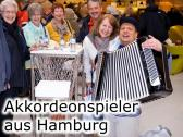 Shanty & Seemannslieder Sänger Akkordeonspieler  Hamburg