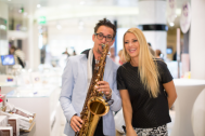 Saxophonist Tobi S
