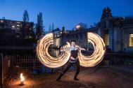 Spherina - Feuershow und Lichtshow