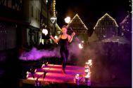 Stefanie Fleschutz Dance with Fire