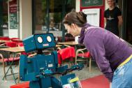 Visual Comedy und humanoide Roboter
