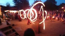 Feuergaukler Kerze