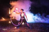 ANJA FIRE ARTIST - das flammende Eventhighlight