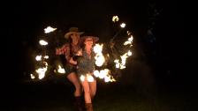 Feuerflug Feuershow