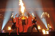 Les Lionnes - Feuerwelten/Laser und Eisshows