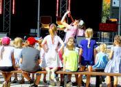 Kindershow mit Vicky Holiday
