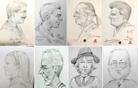 1A Portrait Schnellzeichner Karikaturist LEONARDO