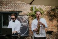 THE TWO MEN GROUP  |  DJ & SAXOPHONE