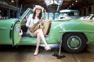 Saxophonistin Mercedes aus Berlin | Diplom Berufsmusiker