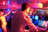 DJ mit Live-Percussion - Robert Kopp