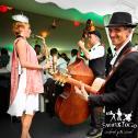 Saxophonfrau