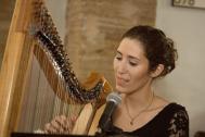 Corinna Schmidt Gesang und Harfe