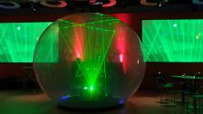 """""""Lazersphere"""" - Laser Show-Act"""