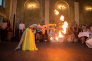 Hanca, professionelle Bauchtänzerin, Bauchtanz und Feuer Shows