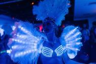 LED LICHT Tanzshow EDELSTEINE