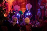LED LICHT Showacts Tanzshow EDELSTEINE
