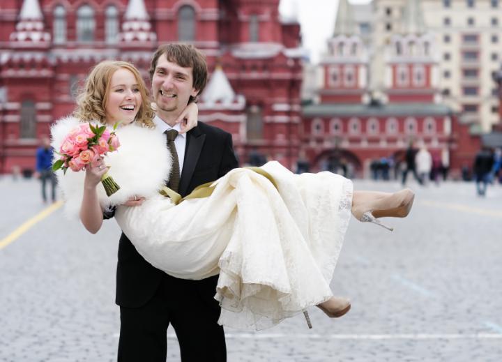 russische hochzeiten