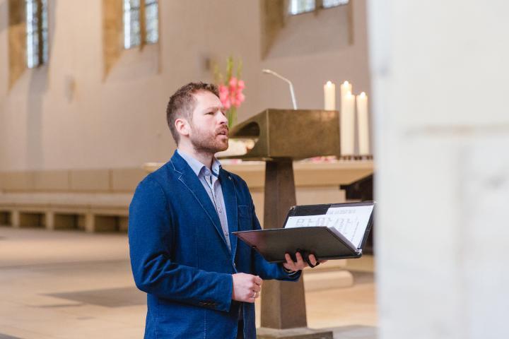 Stefan Baumler Tenor Hochzeitssanger Sanger Silberhochzeit
