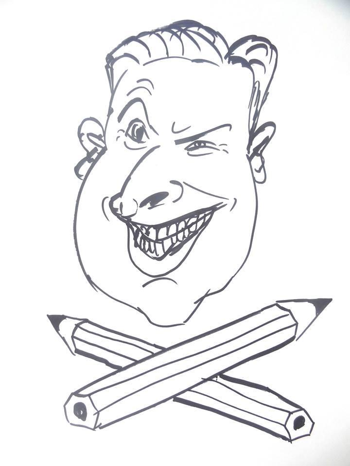 Karikaturist Tristan   eventpeppers