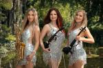 Modernes Geigenduo und Trio Laruan