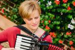 Tanja Geiger - Akkordeonspielerin / Münster