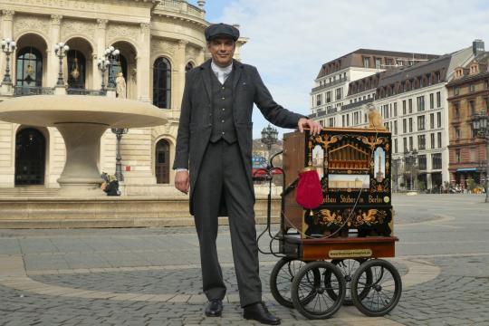 Ihr Frankfurter Drehorgelmann