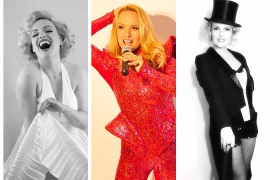 Helene Fischer Double & Marilyn Monroe Double & Marlene Dietrich Double
